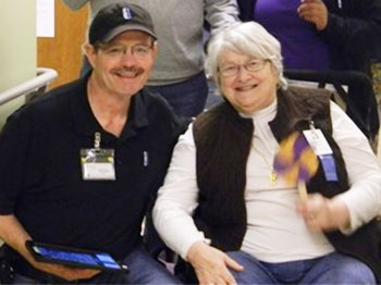 Participants and staff at Immanuel Pathways in Southwest Iowa take part in National Alzheimer's Day