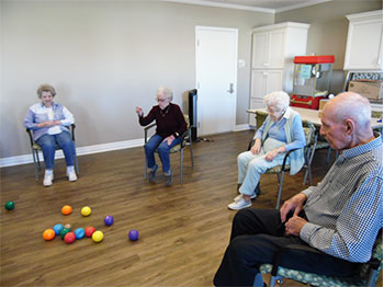 Pacific Springs Village Brings Bocce Ball Indoors