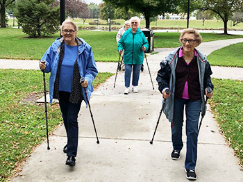 Trinity Village Takes A Walk!