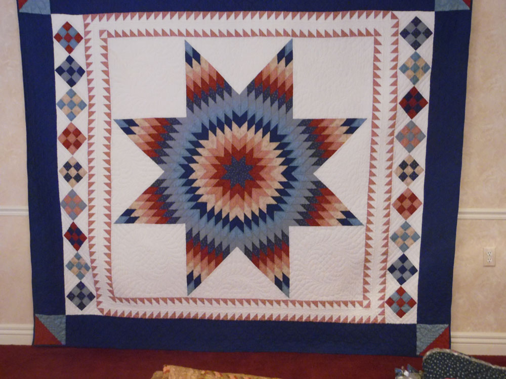A quilt shown at The Arboretum senior living community's quilt show