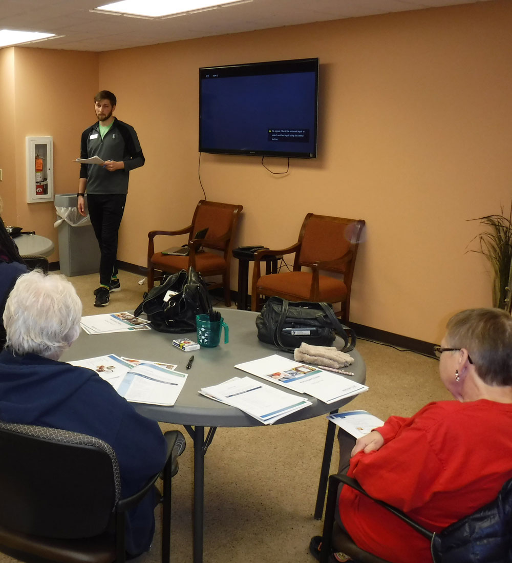 Immanuel Village hosts a Live Well, Get Fit class for it's residents